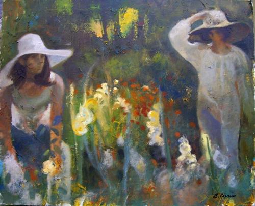 Cuadro al oleo  figurativo 2 .  Pintura al oleo figurativa de Beltran Lozano.