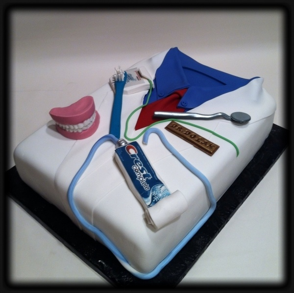 Birthday Cake Design For Dentist : dentist cake!!!!!!!!!!!! Great.Clever.Cute Ideas ...