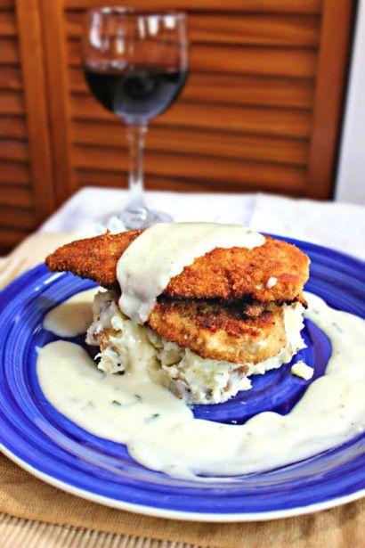 Pan Seared Chicken Cutlets & Lemon Basil White Sauce | Tasty Kitchen ...