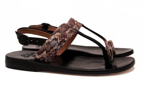 Print Flat Sandal. Order online or call Halo Shoes at 503-331-0366