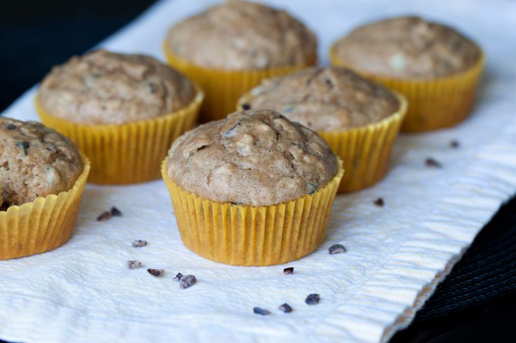 peanut butter-banana muffins | Delectable Desserts | Pinterest