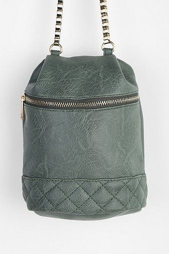 Kimchi Blue Quilted Zip Bucket Bag