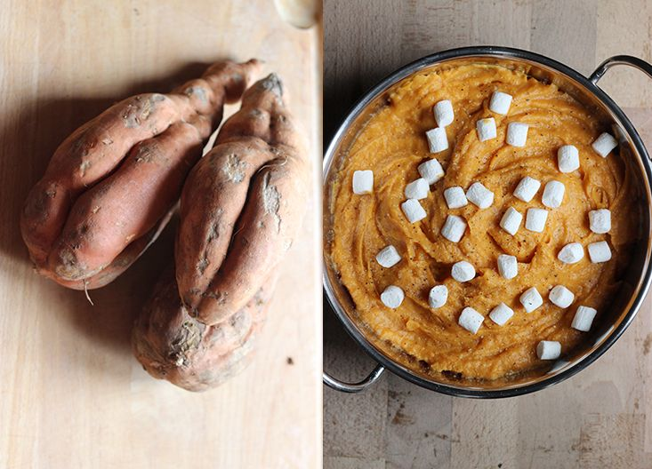 Sweet Potato Puree With Caramelized Marshmallow Recipes — Dishmaps