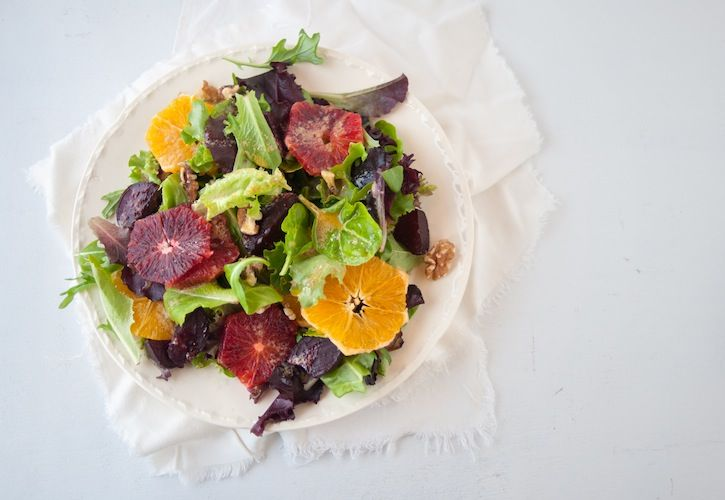 Roasted Beet, Blood Orange and Green Salad and a giveaway of Cannelle ...
