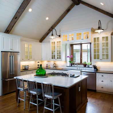 Vaulted Ceiling Vaulted Wood Beam Ceiling Pinterest