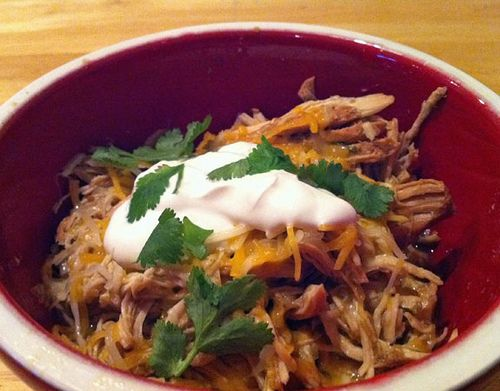 ... crock pot meal!! Chicken Chili Verde by stacesouthwick, via Flickr