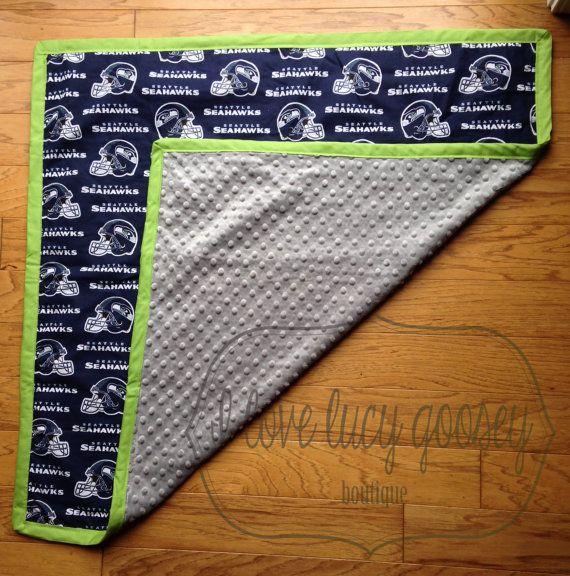 seahawks blanket swaddle size floor blanket baby shower