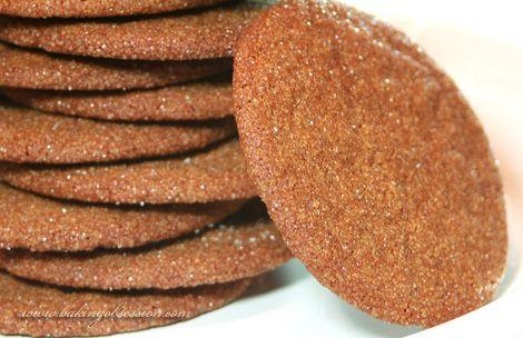 Molasses Spice Cookies | Food | Pinterest