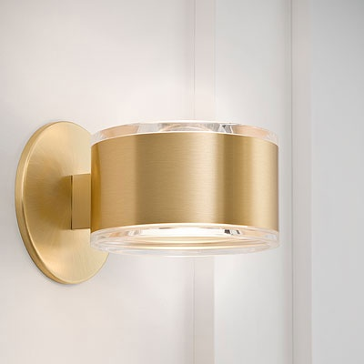 Quergedatch Vanity Wall Sconce