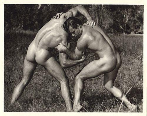 Naked Greek Wrestling 19