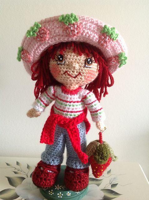 Amigurumi Strawberry Doll Pattern : Ravelry: Dutsies Strawberry Shortcake Crochet Pinterest