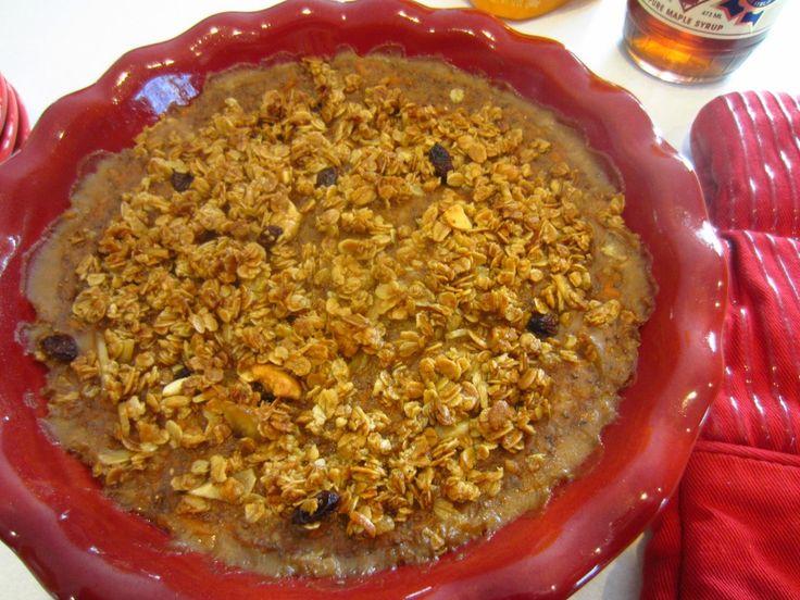 Sweet Potato Oatmeal Breakfast Casserole (GF/DF)