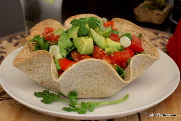 Black Bean Taco Salad | .recipes. | Pinterest