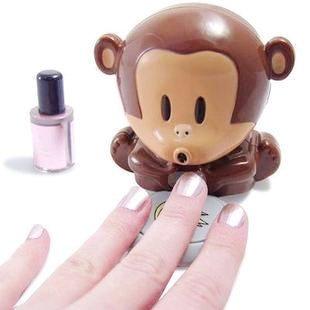 Cute Monkey Nail Drier by Julyjoy