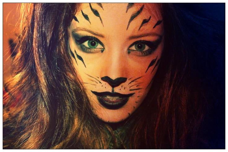 Tiger Makeup | Holidays | Pinterest