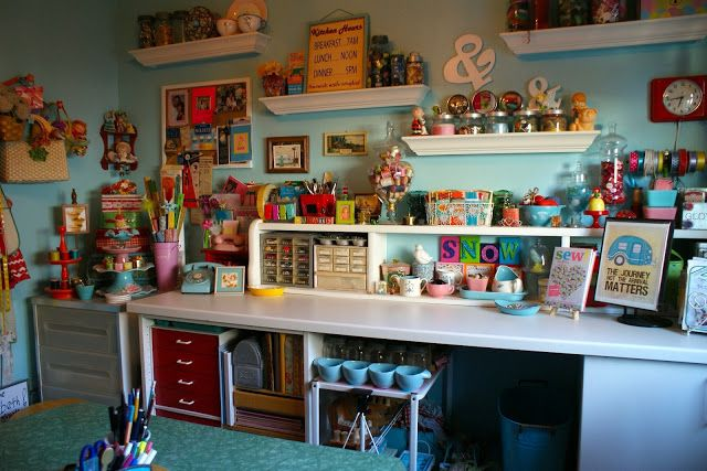 Reminisce: my creative space | craft rooms | Pinterest 640 x 427