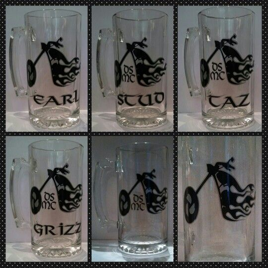 Wedding Gifts For Groom Party : Wedding party grooms men party favors Glassware Pinterest