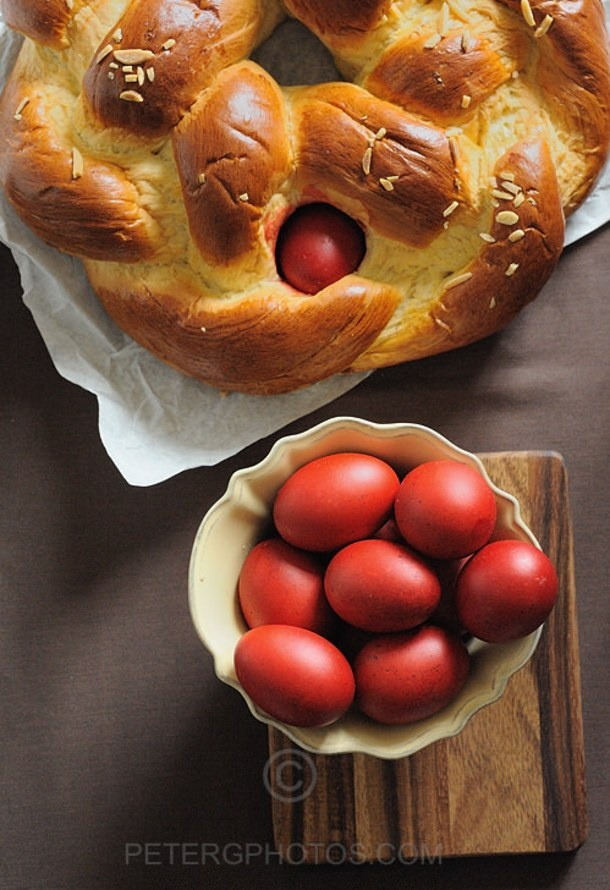 Greek Easter Bread, ''Tsoureki'' | FOOD - Bread, Bun & Pi...