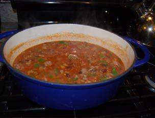 ... of my all time favorite recipes....Jerk Turkey Chili by Rachael Ray