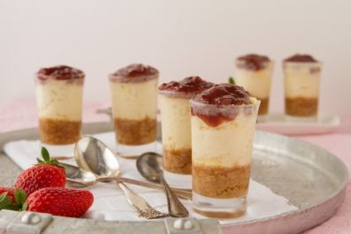 Cheesecake Shooters