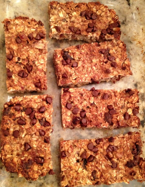 Ingredient Banana Oat Bars! Directions: Preheat oven to 350°F ...