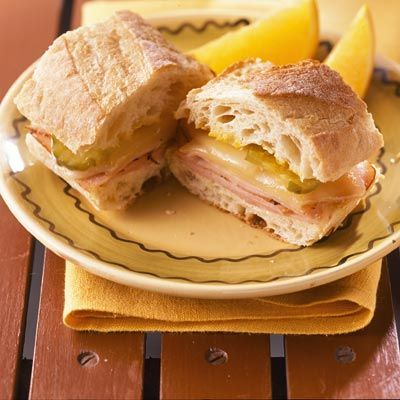 Grilled Cuban Sandwich | Sandwich / Burger Board | Pinterest