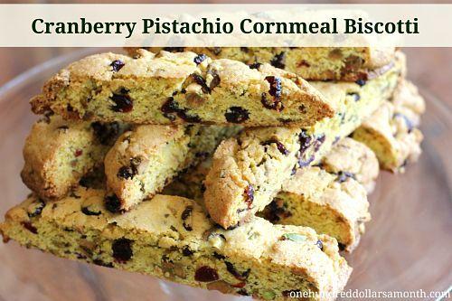 ... biscotti this recipe for cranberry pistachio cornmeal biscotti rocks