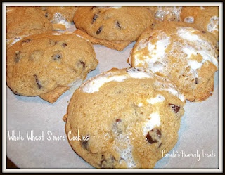 Whole Wheat S'more Cookies! | Food | Pinterest