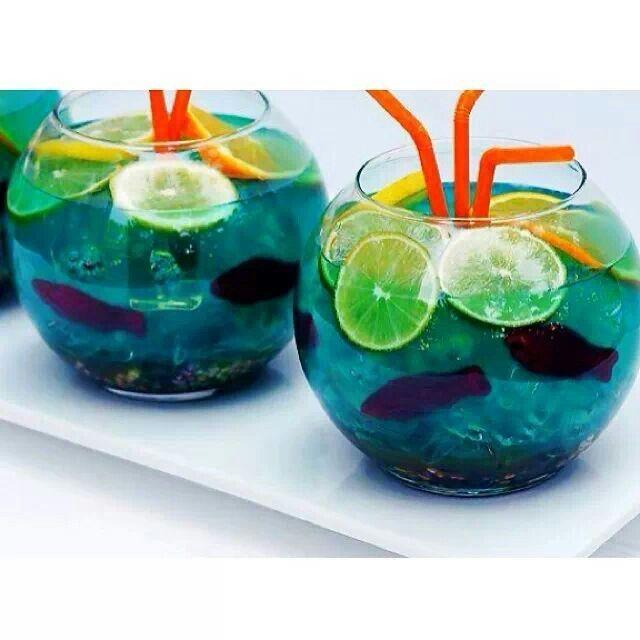 Swedish fish blue vodka drinks drinks and more drinks for Swedish fish shot