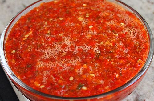 Sweet Chili Pepper Salsa