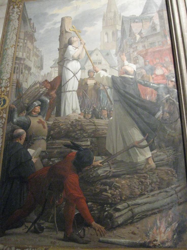 Joan of Arc painting: Pantheon, Paris   France   Pinterest