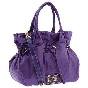 Purple handbag from Marc by Marc Jacobs