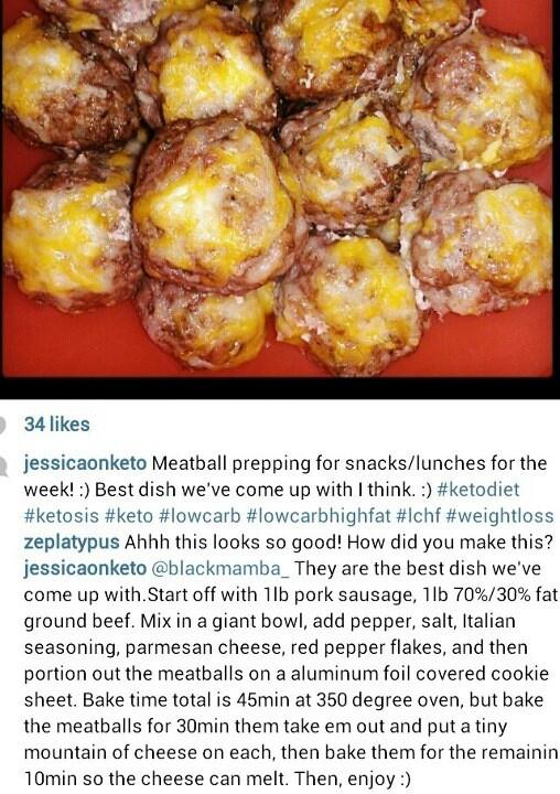 Sausage/ground beef meatballs | Food | Pinterest