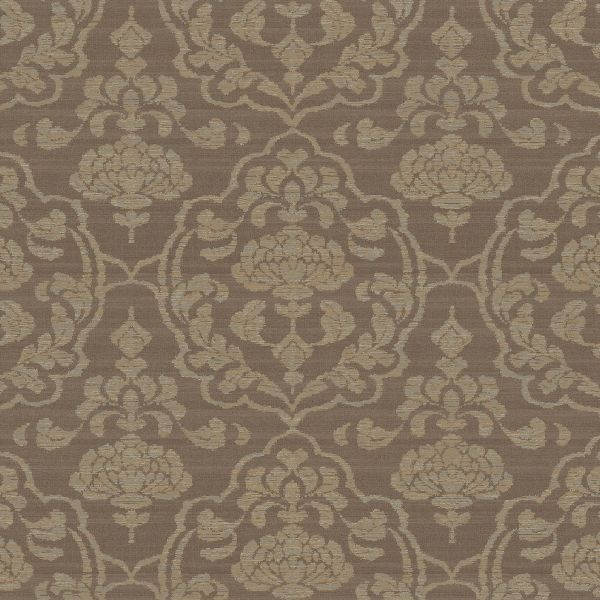 brown on brown damask wallpaper - photo #6