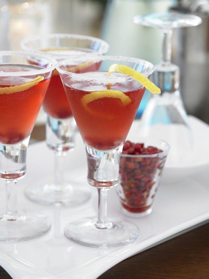Pomegranate Cosmo | Delish! | Pinterest