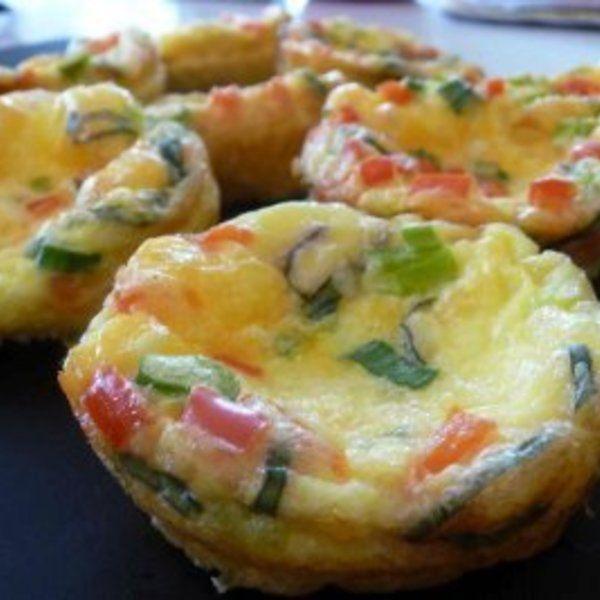 Gluten Free Muffins aka Mini-Quiches | Yummy food | Pinterest