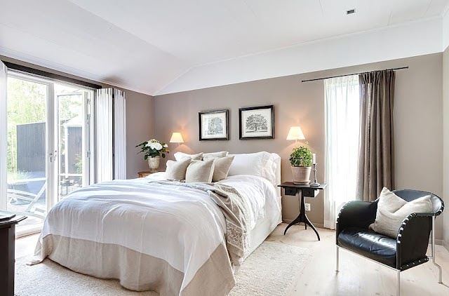 Taupe Color Bedroom