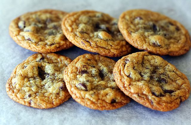 Sea Salted Chocolate Chip Cookies | Fantasy Baking-Could I? | Pintere ...