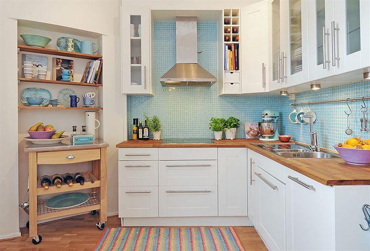 decoracao cozinha rural : decoracao cozinha rural:ACHADOS DE DECORAÇÃO – blog de decoração: DECORAÇÃO DE COZINHAS