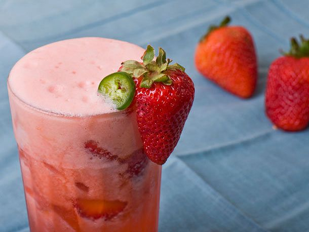 Spicy Strawberry Jalapeno Lemonade, just need to make a few changes ...