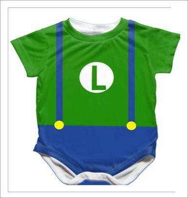 Luigi onesie lil clothes for owen pinterest