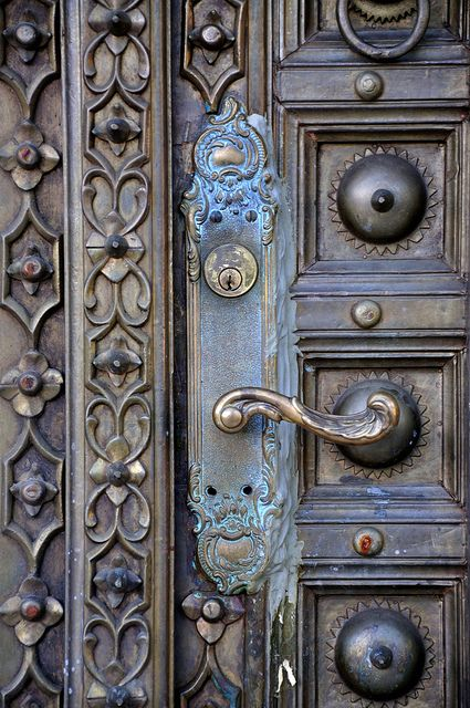 old world patina.....