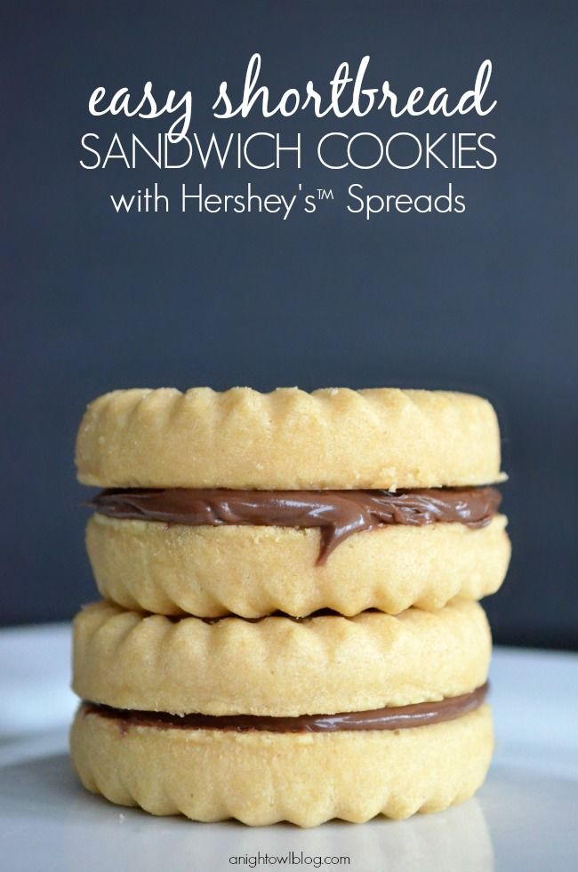 Make these Easy Shortbread Sandwich Cookies in minutes with NEW ...