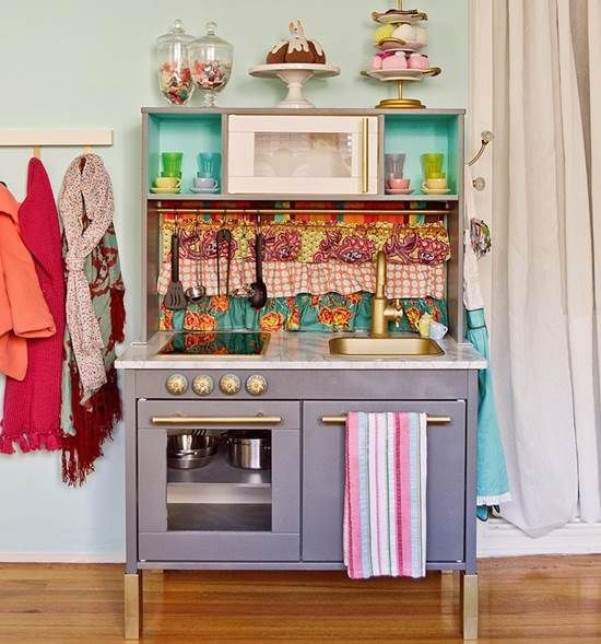 Pin by yyc julie on play kitchen pinterest for Play kitchen set
