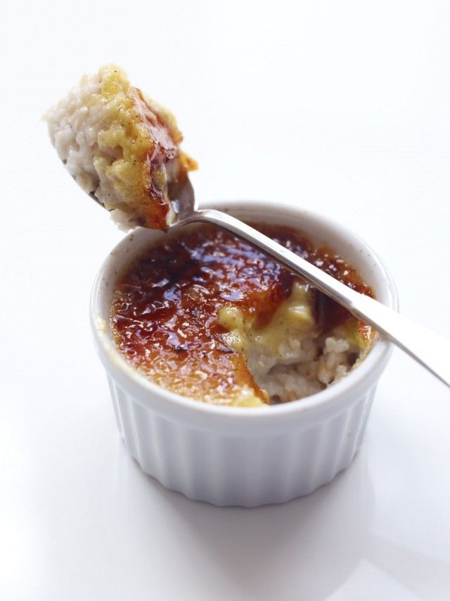 Oatmeal Creme Brulee by Peter Callahan Con Poulos. this man is ...