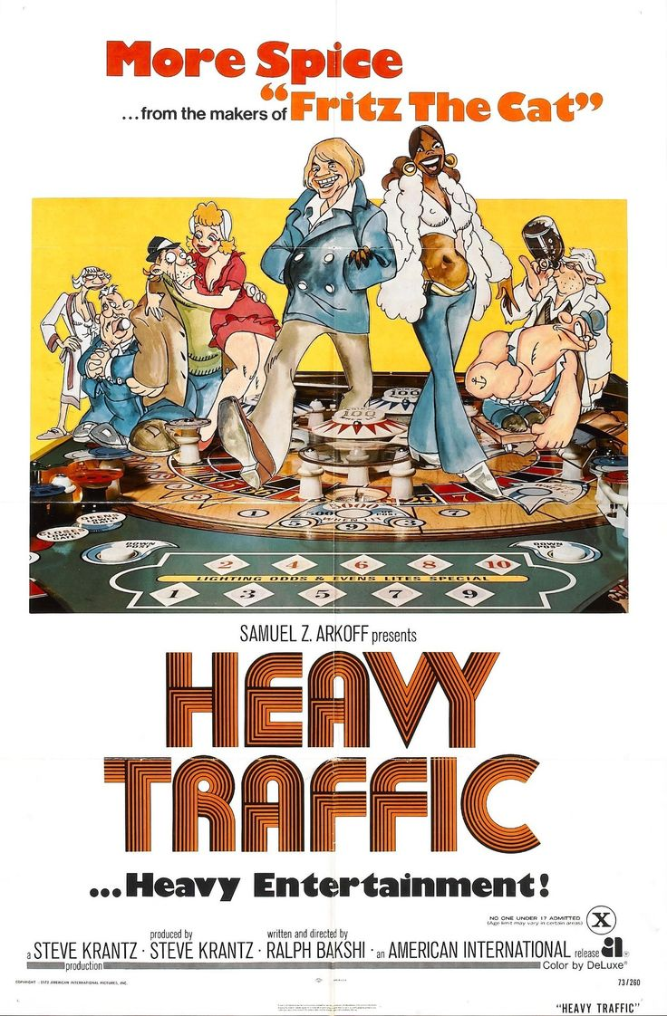 Heavy Traffic (1973) [1080] [SUB] • Ralph Bakshi