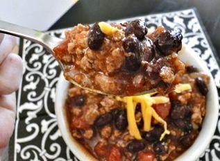 Turkey Black Bean Chili | Healthyyy | Pinterest