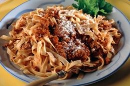 Cinghiale, homemade pappardelle pasta with slow cooked wild boar meat ...