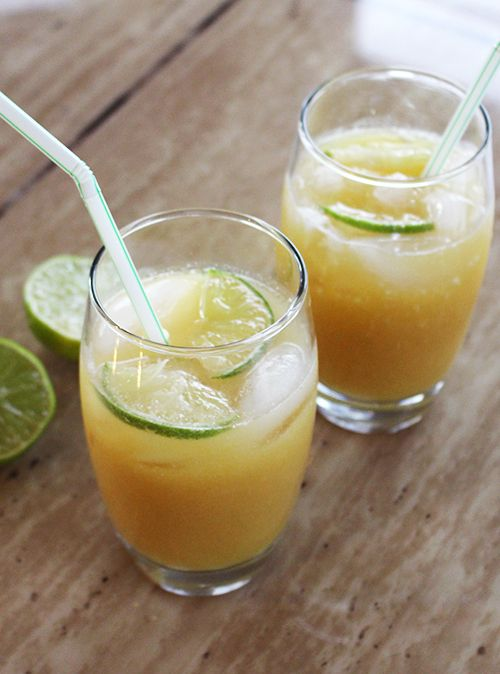 Pineapple Coconut Lime Cooler | Libations & Whistle Wetters | Pintere ...