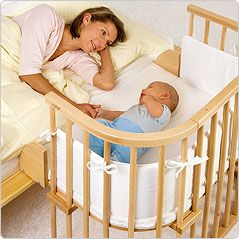 BabyBay - Bed extension.... (I also like how versatile this is...also as a highchair, playpen....)
